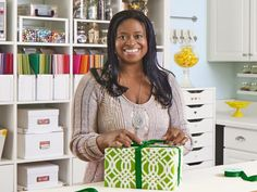 HGTV Magazine was awed by one reader's impressively organized craft room. Luckily, this DIYer's ideas are easy to copy!