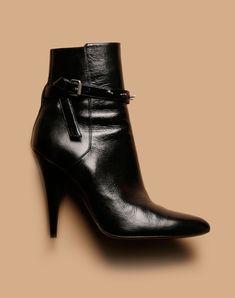Les boots punk de Saint Laurent par Hedi Slimane