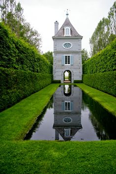 Jardines en verde on pinterest formal gardens for Jardin quatre vents