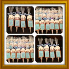 Hot Cocoa party favors I made as giveaways for my baby shower :) my guests loved it!