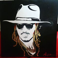 """""""$25,000.00 First Glance"""" For @future. .. You are an amazing artist and your work is (Quality X Quantity)... Thank you.  Acrylic on Wood @StevenMichaelJohnsonArt Snap: @TheRealStevenMJ StevenMichaelJohnsonArt@gmail.com . #SMJArt #Dallas #CaliArt #NYCArt #IG_Europe #Cali #BNW_Europe_Portraits #DallasArt #RawArt #Painting #sxsw #DallasArtDistrict #ModernArt #Krunkness #DallasCowboys #DfwArtist #DfwArtwork #Paint #BlackAndWhite #Acrylic #Wood #Deepellum #Portrait #blog #houstonblogger…"""
