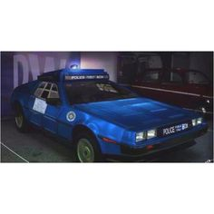 Delorean TARDIS ~ I can see the Doctor in this  #Doctor Who