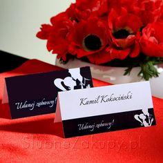 Rewelacyjna wizytówka, na której nadrukujemy nazwisko gościa świetnie sprawdzi się na Waszym weselu! #kolekcjaslubna #slub #wesele #dekoracjeslubne #podziekowaniadlagosci #ślub #wedding #wesele #love #slub #pannamloda  #bride #slubnaglowie #pannamłoda #miłość #weddingday #sesjaslubna #weddinginspiration #slubneinspiracje Cards Against Humanity
