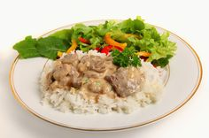 Easy Crock Pot Beef Stroganoff. This sounds great! I haven't had Beef Stroganoff for a long time. The next time I want a Crock Pot beef recipe, I'm going to try this.
