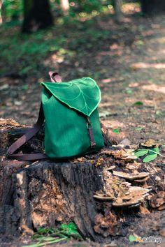 Leaf Mini Backpack Rucksack Waterproof backpack by LeaflingBags