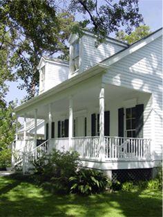 Grand Isle, DeMolle house in Background | gardening | Pinterest on