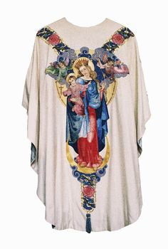 Chasuble  Dutch  Design: Humbert Randag O.P.  Produced by the Franciscan Missionaries of Mary, Amsterdam  Date: c. 1930-1940