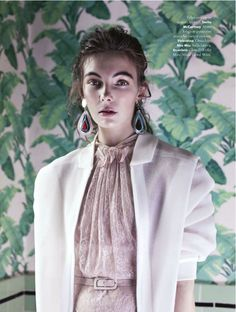 romantiche trasparenze: hannah noble by jacopo moschin for a anna magazine 6th june 2013 #fashion #photography
