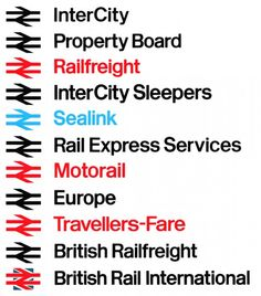 British Rail visual identity | c1960s