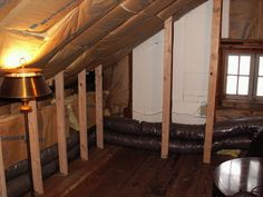 Finished out attic space