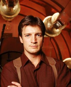 Nathan Fillion? Yes, please. AND he co-founded Kids Need to Read, an organization dedicated to getting more books into underfunded libraries. How sexy is that?