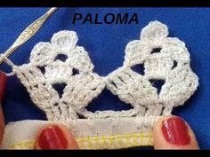 Recently shared orillas de crochet de una vuelta ideas & orillas de crochet de una vuelta pictures Diy Crafts Crochet, Crochet Gifts, Crochet Doilies, Crochet Flowers, Crochet Lace, Crochet Hooks, Crochet Projects, Crochet Edging Patterns, Crochet Borders