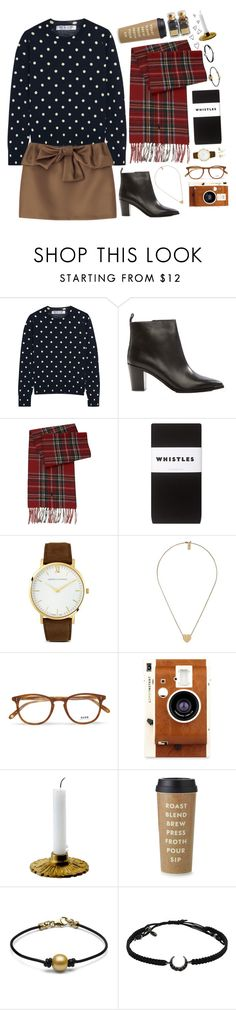 """""""Untitled #313"""" by pinkandgoldsparkles ❤ liked on Polyvore featuring Comme des Garçons, Acne Studios, Ralph Lauren, Whistles, Larsson & Jennings, Marc Jacobs, Garrett Leight, LØMO, Kate Spade and Grace Lee Designs"""
