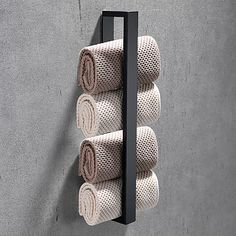 Bath Towel Racks, Towel Holder Bathroom, Bathroom Towels, Bathroom Shelves, Bath Towels, Towel Rail, Contemporary Style Bathrooms, Modern Contemporary, Steel Paint