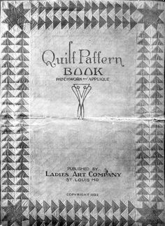 This pattern was available in the early 1900s from The Ladies Art Company based in St. Description from pinterest.com. I searched for this on bing.com/images