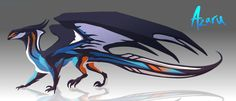 was doing another adopt but then I made them orange and blue and I have a weakess for those colours. Wanted alternate dragon sona t. Dragon 2, Mythical Creatures Art, Fantasy Creatures, Deviant Art, Creature Feature, Creature Design, Warrior Concept Art, Reptiles, Terrarium Reptile