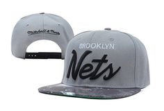NBA Brooklyn Nets Mitchell And Ness Snapback Galaxy 8319! Only $8.90USD
