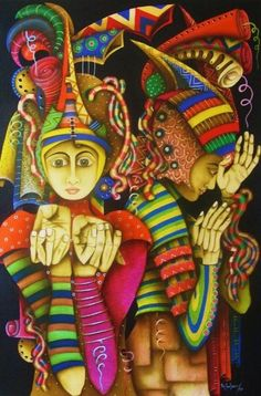 Jorge Rosensvaig also here , here and here Education ArquitecturaBogot, Bell. Colombian Culture, Colombian Art, South American Art, Magic Realism, Orisha, Fantastic Art, Awesome, Amazing, Heart Art