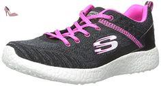 Skechers Flex Appeal - Miracle Worker, Sneakers Basses Femme - Gris (Grey/Pink), 37 EU