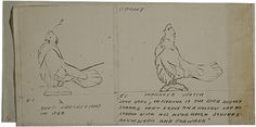 Sketches of five turkeys on logs, ca. Albert Laessle papers, Archives of American Art, Smithsonian Institution. Archives Of American Art, Logs, Sketches, Paper, Animals, Artist, Drawings, Animales, Animaux