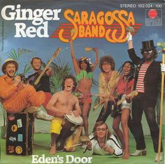 ginger red saragossa band