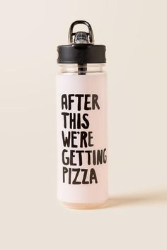 Ban.do - After This We're Getting Pizza Water Bottle