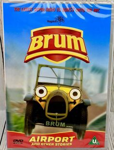 Brum - Airport And Other Stories (DVD, for sale online Seal, Superhero, The Originals, Kids, Children, Boys, Harbor Seal, Seals, Superheroes