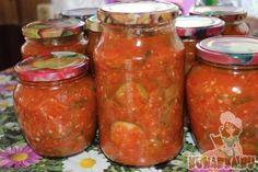 Recept: Uhorkový šalát v paradajkovej omáčke