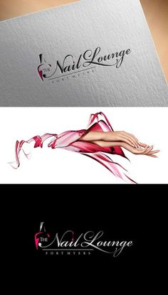 """I need a very nice, stylish, catchy and trendy logo for my new nail salon name """"The Nail Lounge by Tonino Design https://www.facebook.com/shorthaircutstyles/posts/1760247207599052"""