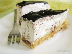 Fedora torta Recept Hungarian Recipes, Hungarian Food, Cake Bars, Cake Cookies, Bon Appetit, Tart, Healthy Living, Food And Drink, Cooking Recipes