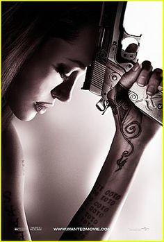 WANTED. My favorite Angelina Jolie movie. She's so kick ass!