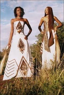 Ethnic wedding dresses: African