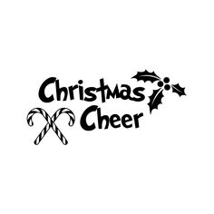 Christmas cheer candy Phrase Graphics SVG Dxf EPS Png Cdr Ai Pdf Vector Art Clipart instant download Digital Cut Print File Cricut by VectorartDesigns on Etsy