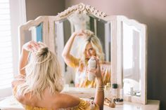 Plum Pretty Sugar Dress / Moon & Lola Mug Happy Tuesday lovelies!!! I have had MULTIPLE questions on my hair and what I use to achieve those beach waves so I decided to do a quick roundup of s…