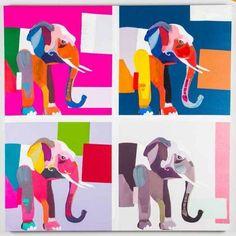 Quadro Elephant 2