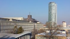 Good afternoon from Bratislava! All of us here in the Slovak Radio building are soaking up the winter sun. It's a bit cool outside, however, at -2°C (28°F).