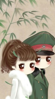 32 Best Couple Kartun Lucu Images Anime Chibi Cute Chibi Cute