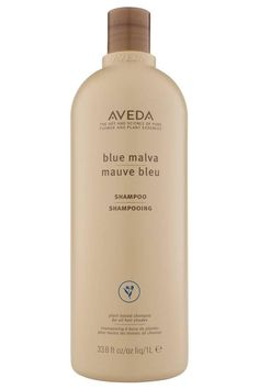 Aveda Blue Malva Shampoo | If your gray hair has lost its vibrancy or is suddenly beginning to skew a bit yellow, it's time to invest in a shampoo formulated specifically for your silver strands. Our picks for the best shampoos for gray hair will gently cleanse away build up to reveal a more illuminated color that's free of brassiness and yellow-tones. Most of these shampoos are gentle enough to use daily, but read up on each pick to ensure it fits with your wash schedule, whether you lather…