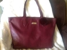 Cole Haan Huntly Leather Tote in Windsor Red (Found on Kijiji in EUC with Dust Cover for $40 Original MSRP $228)