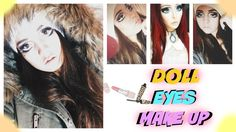 Doll EYES make up: HALLOWEEN 2014