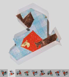 To gild the blue A. Cristales, pan de cobre, pan de oro, acrílico y papel de seda sobre cartón. 3,7 x 40 x 40 cm. 2010.
