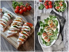 Chicken fan Caprese and my experience with HEISO - Essen und Trinken - gericht Poulet Caprese, Caprese Chicken, World Recipes, Low Carb Keto, Quick Meals, Clean Eating, Good Food, Food Porn, Food And Drink