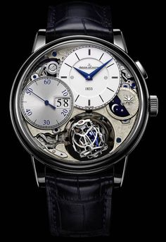 Discover a large selection of Jaeger-LeCoultre Master Grande Tradition watches on - the worldwide marketplace for luxury watches. Compare all Jaeger-LeCoultre Master Grande Tradition watches ✓ Buy safely & securely ✓ Amazing Watches, Beautiful Watches, Cool Watches, Audemars Piguet, Dream Watches, Fine Watches, Men's Watches, Swatch, Jeager Le Coultre