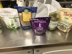 To get more protein and fats for breakfast I put Chia Seed , Hempseed , Almond butter and sunflower seeds in my oatmeal Hemp Seeds, Sunflower Seeds, Chia Seeds, Stuffed Shells, Almond Butter, Oatmeal, Protein, Breakfast, Life