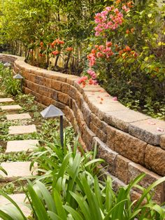Wall by System Pavers