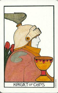 Knight of Cups - Aquarian Tarot by David Palladini
