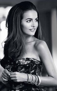 Half up hair; also Camilla Belle is my power brow + collarbone inspiration Wedding Hairstyles Half Up Half Down, Wedding Hairstyles For Long Hair, Wedding Hair And Makeup, Pretty Hairstyles, Hair Makeup, Hair Wedding, 60s Hairstyles, Dress Wedding, Hairstyle Ideas