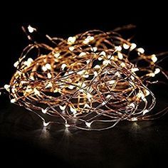 STARSHINE 12V LED String Lights Flexible Dimmable Copper Wire ...