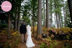 Migis Lodge wedding in South Casco, Maine.