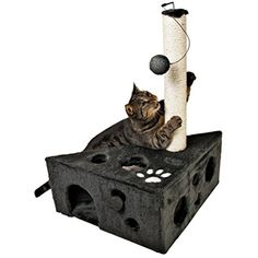 Cat House Tower Scratcher Post Bed Condo Pet Play Kitten Toy Furniture Cave Tree -- Learn more by visiting the image link. (This is an affiliate link) #Cats